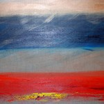 Contemporary art, Barbara Goldberg art, Sunrise on Linen